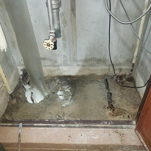 水漏れ修繕01