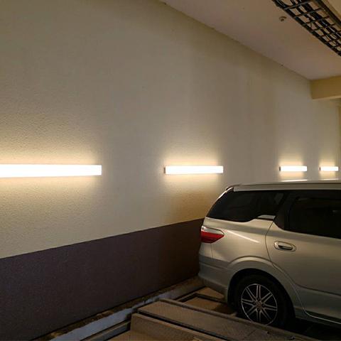 照明器具取替工事